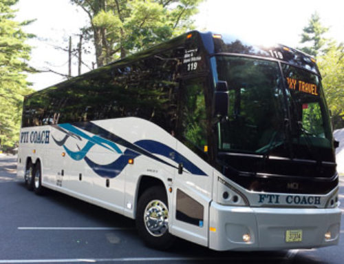 FTI Coach has taken delivery of its newsest MotorCoach, #119 .